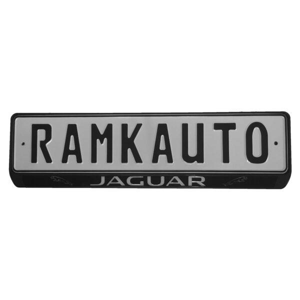 Рамка номера jaguar